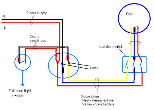 Wiring diagram for bathroom exhaust fan and light image bathroom 2017 bath fan light heat wiring diagrams fans asfbconference2016 Choice Image